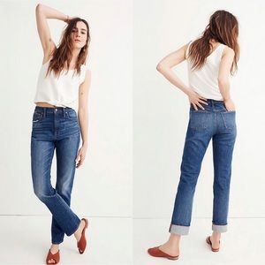 Madewell The High-Rise Slim Boy Jean Jeans
